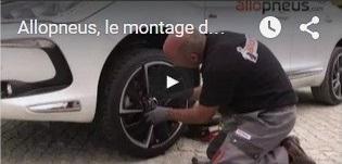 Allopneus, le montage de pneu à domicile dans le détail