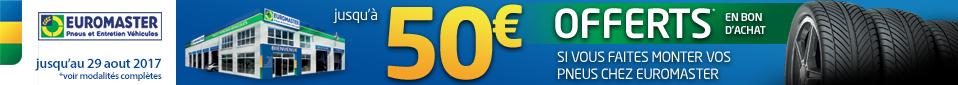 Euromaster entretient votre véhicule.