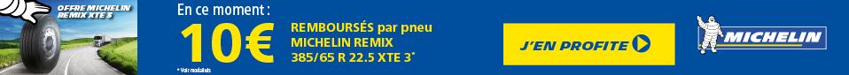 OFFRE MICHELIN REMIX XTE3 !