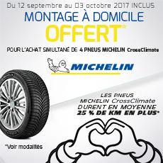 Armez-vous face aux aléas climatiques avec Michelin CrossClimate