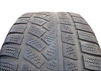 Exemple de pneu sur-gonflé