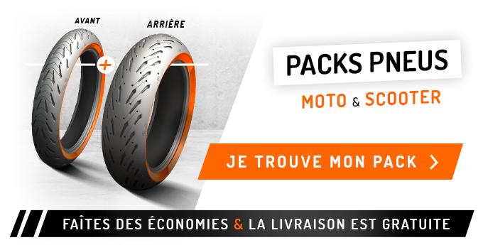 Packs pneus AV+AR