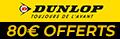 Pneu Dunlop promo auto pas cher