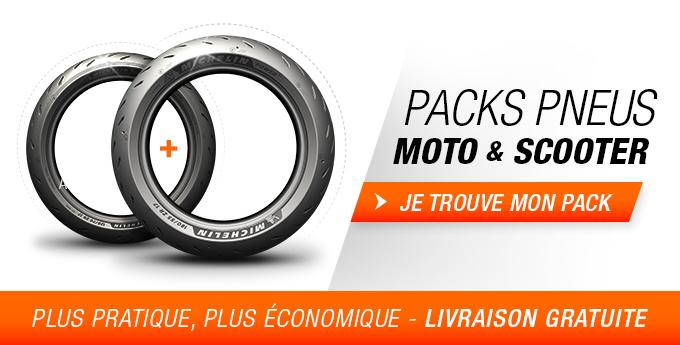 Pack Pneus Moto & Scooter
