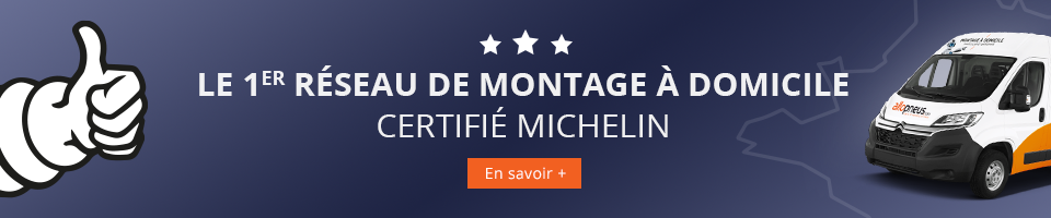 Le 1er réseau de montage à domicile certifié Michelin