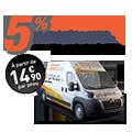 Promo : MONTAGE MOBILE : 5% de REMISE sur votre commande.