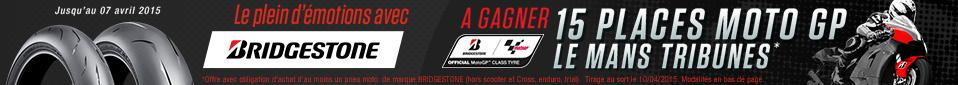 Assistez au Moto GP le MANS avec BRIDGESTONE