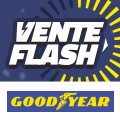 Promo : VENTE FLASH GOODYEAR