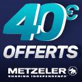 Promo : Vivez un moment inoubliable avec les pneus moto METZELER