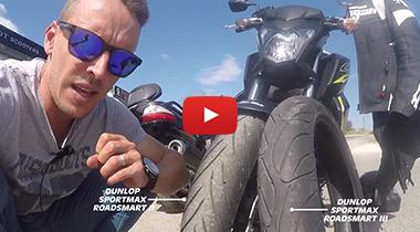 Vidéo test Dunlop