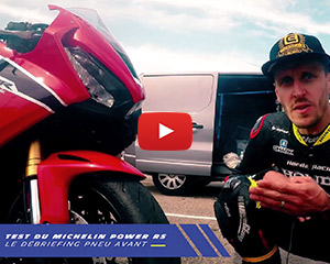 Freddy Foray a testé pour Allopneus : MICHELIN Power RS